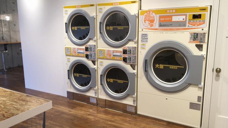 布団などの大型を乾燥できる機械