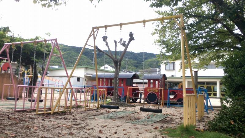 幼稚園内のグラウンド施設