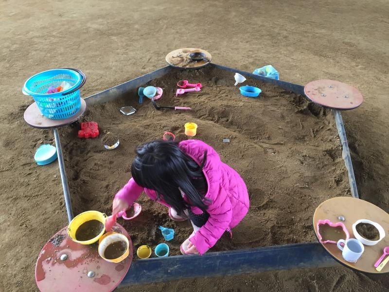 砂場の写真